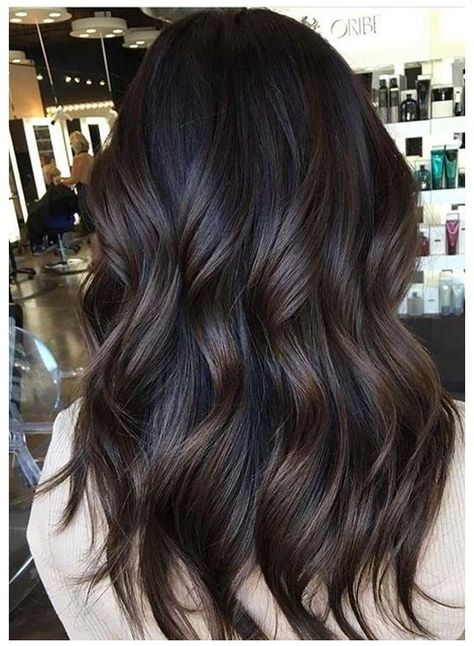 Hair Color Shades, Hair Color For Black Hair, Brown Hair Colors, Best Brunette Hair Color, Dark Brunette Hair, Red Hair, Hair Color For Women, Raven Hair Color, Best Hair Color