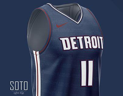 Nba City Edition Detroit Pistons Concept By Soto Uniforms Design Http Be Net Gallery 893415 Detroit Pistons Detroit Pistons Basketball Pistons Basketball