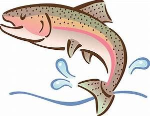 Rainbow Trout Clip Art Vector Images Illustrations Istock