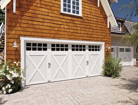 Clopay Coachman Collection Insulated Steel And Composite Carriage Style  Garage Doors, Design 21 With SQ 24 Windows. Www.clopaydoor.com   Pinterest  ...