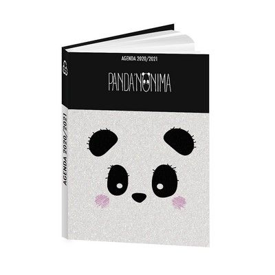 Agenda scolaire 2020-2021 Panda Tendance 12x17cm Bouchut | Agenda ...
