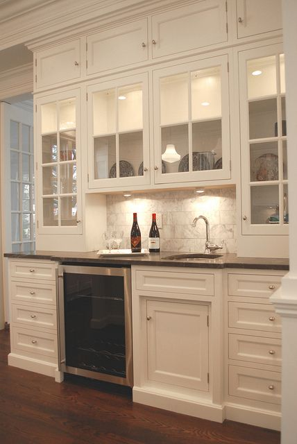 Milbank Wet Bar By Dearborn Cabinetry Via Flickr