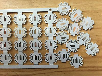 Details About 50pcs 20mm Star Base Pcb Board For Cree Mc E Rgbw Rgb White Or Warm White L Led Cree Pcb Board Warm White