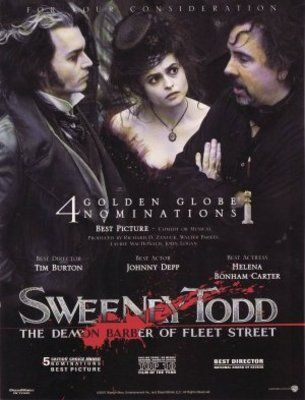 Sweeney Todd The Demon Barber Of Fleet Street Poster Id 693705 Movie Posters Movie Covers Movie Posters Vintage