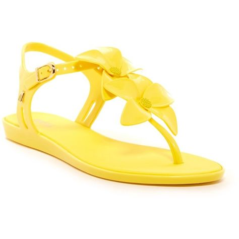 adaadb8862a7 MELISSA FOOTWEAR Solar Garden Sandal ( 50) ❤ liked on Polyvore featuring  shoes