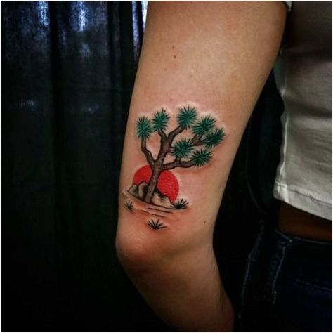 It was a pleasure to make this Joshua tree for, Devin. Thanks... #TattooInspiration Click to see more.