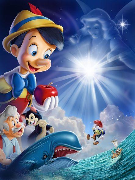 Pinochio Walt Disney Characters Disney Posters Pinocchio Disney