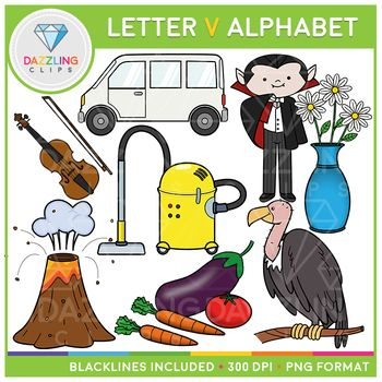 This Set Contains 16 Image Files Including 8 Black White And 8 Color Images In Png Format All Images Have A 300 Dpi Letter V Lettering Alphabet V Alphabet