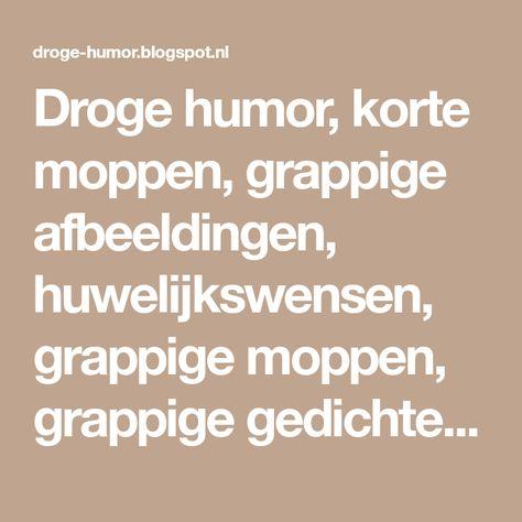Droge Humor Korte Moppen Grappige Afbeeldingen