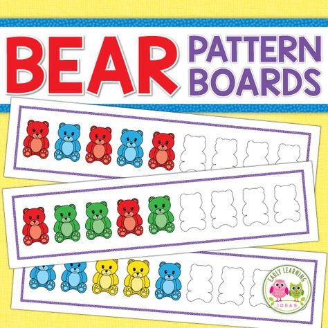 Bear Patterning Activities