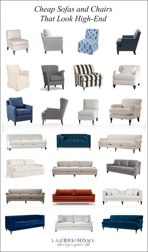 24 Cheap Sofas and Chairs That Look High-End