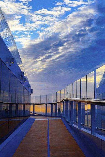 Saunter At Sunset The Running Track On Quantum Of The Seas Is - Track royal caribbean cruise ships