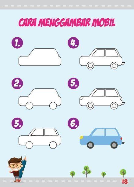 Gambar Mudah Untuk Anak Tk Download Gratis Ebook Tutorial Cara Menggambar Peluang Download Cara Mudah Belajar Bah Gambar Menggambar Singa Cara Menggambar