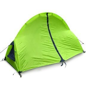 3-Season 1-Person Polyester Layer Water-Proof Backpacking Dome Tent   sc 1 st  Pinterest & 3-Season 1-Person Polyester Layer Water-Proof Backpacking Dome ...