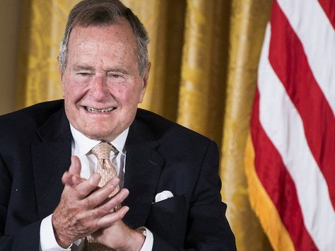 Globalists Unite! George H.W. Bush to Vote for Hillary Clinton