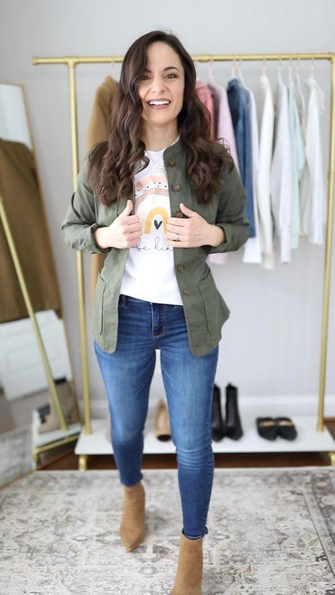 Four Ways to Wear an Olive Jacket