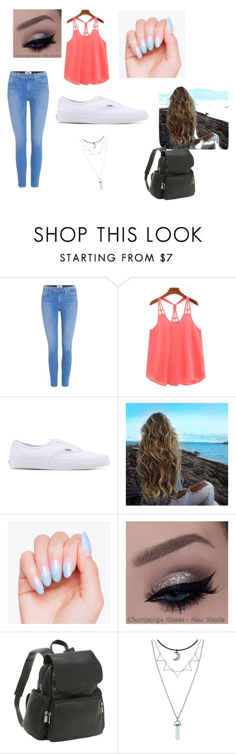 """Back to school"" by sarahmunsell ❤ liked on Polyvore featuring Paige Denim, Vans and Le Donne"