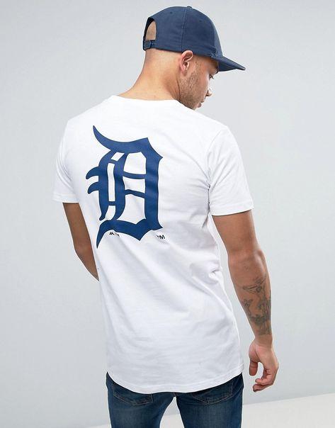Majestic Detroit Tigers Logo T shirt White
