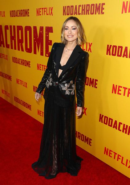 Olivia Wilde attends the Los Angeles special screening of Netflix's film 'KODACHROME.'