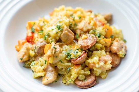 Photo of Pressure Cooker Weeknight Paella with Chicken and Sausage Recipe | SimplyRecipes.com — Simply Recipe