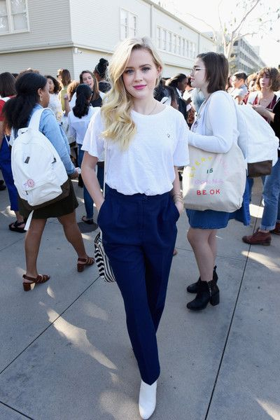 Ava Phillippe attends The Teen Vogue Summit LA.