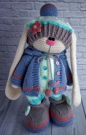 Instagram no pattern * | Crochet dolls, Knitted dolls, Crochet ... | 452x290