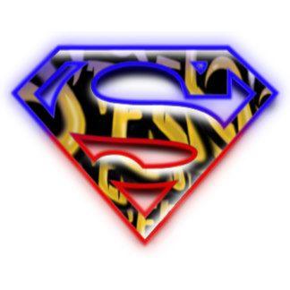 Superman S Shield Purple Red Graffiti Logo Graffiti Logo Superman Wall Superman Coloring Pages