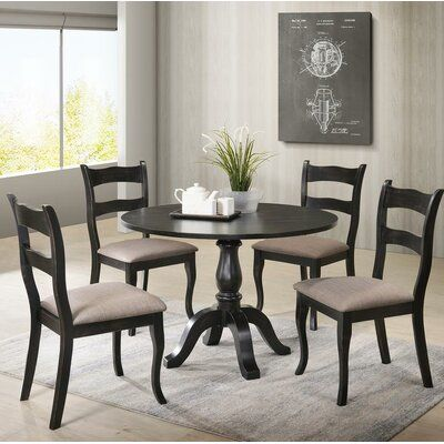 Gracie Oaks Ellerkamp Traditional Side Chair Wayfair Ca In 2020 Best Master Furniture Dining Room Small Solid Wood Dining Chairs