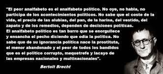 Resultado De Imagen Para Frases Celebres De Bertolt Brecht
