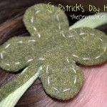 St Patrick's Day Headband Tutorial {Frugal Kid Craft}