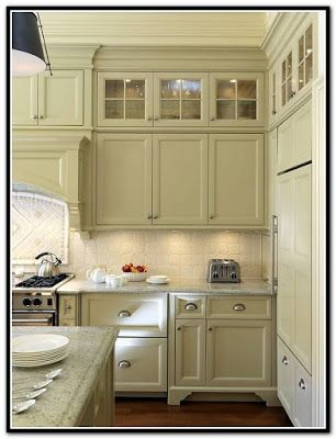 Kitchen Cabinets With Gl Doors On