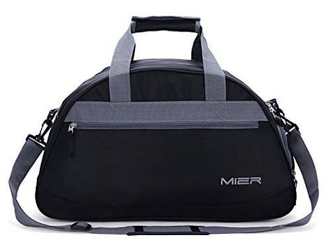 MIER 20inch Sports Gym Bag Travel Duffel with Shoes Compartment for Women  and  MIER 05d9e9677cc21