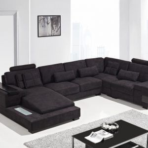 Modern Fabric Sectional Sofas With Chaise 쇼파 아이디어