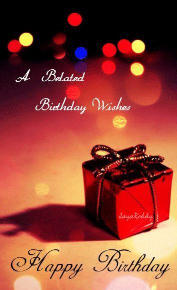 Belated Happy Birthday Wishes Beautiful Best 25 Happy Belated