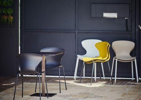 Chaise De Table Moderne Coloree De Qualite Chez Ksl Living Table Et Chaises Chaise De Bureau Design Chaise Moderne