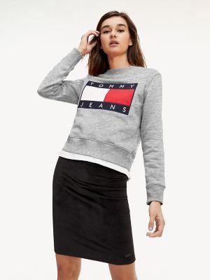 Tommy Flag Sweatshirt Tommy Hilfiger Flag Sweatshirt Sweatshirts Sweatshirts Women