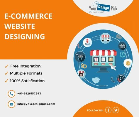 YourDesignPick has many years experience in e-commerce website designing & has successfully completed a large number of e-Commerce projects. #graphicsdesigning #graphicsdesign #graphicsdesigntips #tipoftheday #graphicsdesigningtipoftheday #graphicsdesigningforbusiness #affordablegraphicsdesigning #graphicsdesignforbusinesses #graphicsforbusinesses #graphicsdesigncompany #designing #graphicsdesigningcompany #graphicsdesigningservices #yourdesignpick