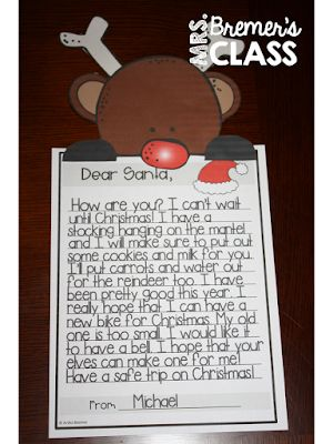 list of pinterest santas letter template black and white pictures