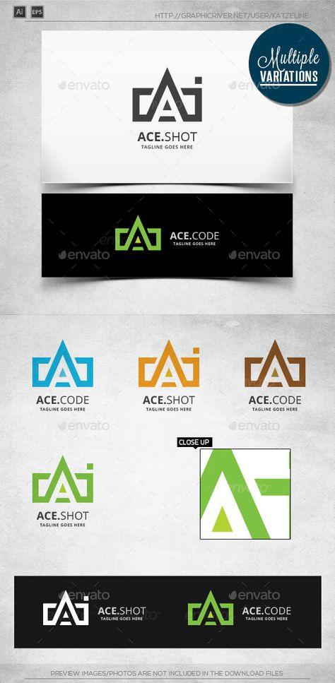 Ace Coding - Photo - Logo Template