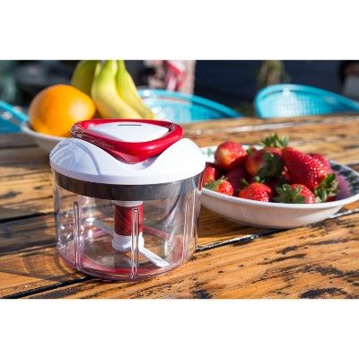 Zyliss Easy Pull Manual Food Processor And Chopper Manuale