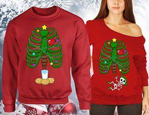 Doryti Christmas Pregnancy Announcement Gift Pregnant Women Sweatshirt tee