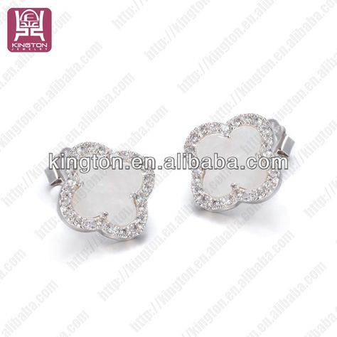 8734c0ee9 China wholesale 925 sterling silver cz stud earrings jewelry set  manufacturer 1.no MOQ 2.stainless steel 3.fast delivery