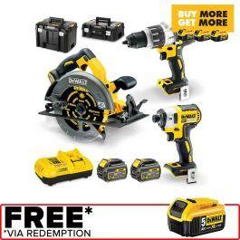 Dewalt 18 54v Brushless 3 Piece 2 X 6 0ah Combo Kit Dcz357t2txe Combo Kit Dewalt Dewalt Power Tools