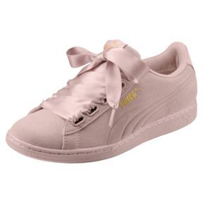 Vikky Ribbon Satin Women's Trainers, Pearl Pearl in 2019
