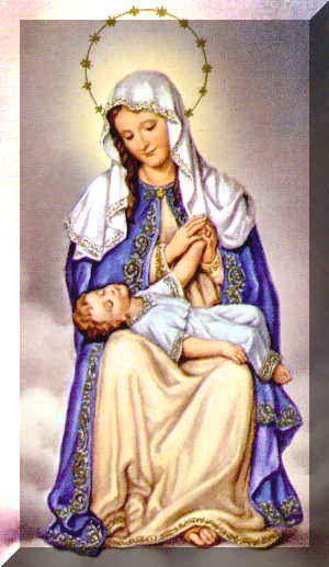 36 Advocaciones de la Virgen María | Virgen maría, Divina ...