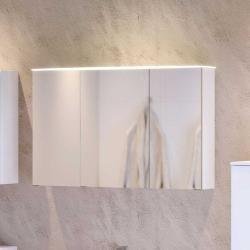 3d Bad Spiegelschrank In Weiss 100 Cm Breit Star Mobel 3d Bad Spiegelschrank In Weiss 100 Cm Breit Star Mobel In 2020 Spiegelschrank Badspiegelschrank Weiss