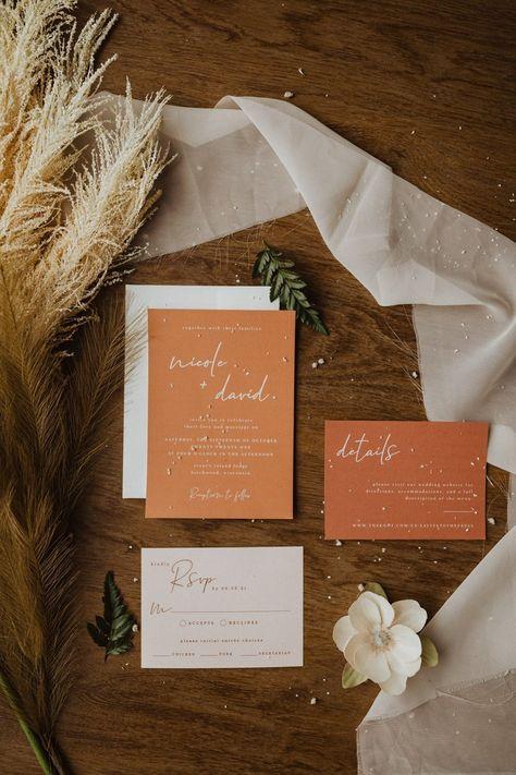 Wedding Invitation Suite, Wedding Stationary, Autumn Wedding Invitations, Wedding Programs, Invitation Cards, Wedding Invitation Inspiration, Wedding Signage, Invitation Wording, Wedding Invitation Content