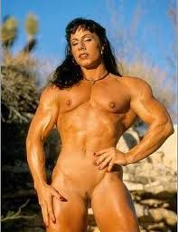 Flat nude girl bodybuilders