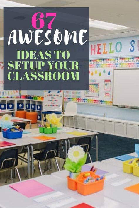 67 Best Classroom Setup Ideas for Back to School | Chaylor & Mads