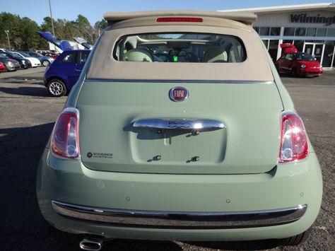 2013 Fiat 500c Lounge For Sale Wilmington Nc Fiat 500 Cabrio Fiat 500c Fiat 500